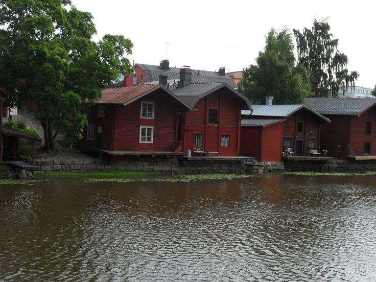 old storage buildings