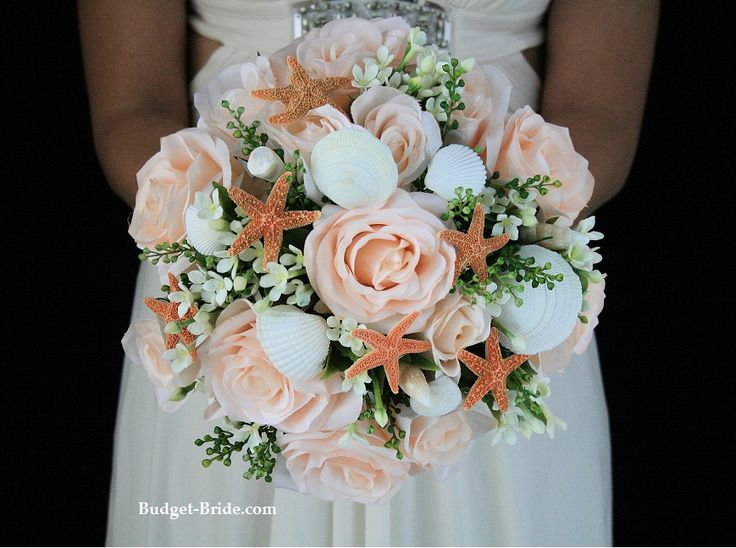 Beach Theme Wedding Flowers On Pinterest Starfish Wedding Flower