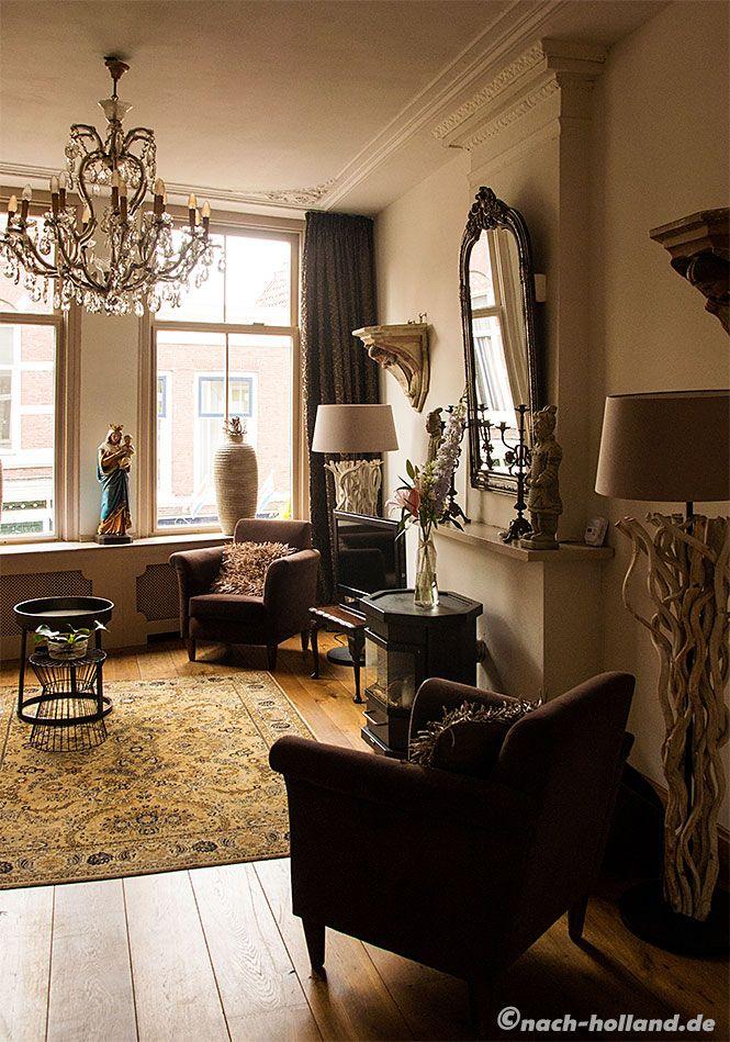 Geschmackvoll und sehr gemütlich ist es in unserem Appartement De Illusie in Gouda