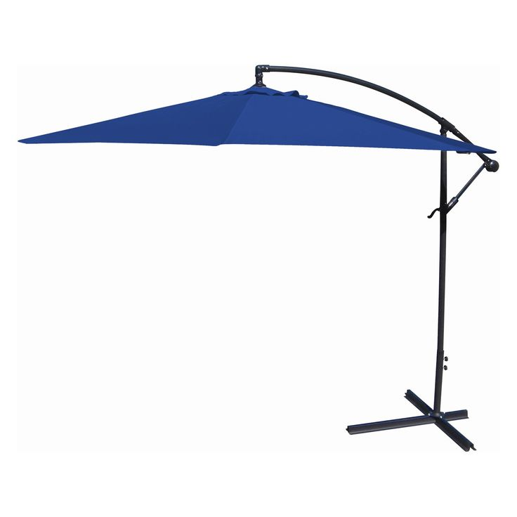 Jordan Manufacturing Offset Umbrella   Bring Some Shade To Your Patio With  The Jordan Manufacturing Offset Umbrella . Crafted Of Spun Polyester, ...
