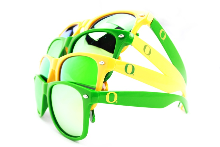 Society43 Oregon Ducks Sunglasses - Multiple colorways available. Check them out today!Nba Sunglasses, Affordable Sunglasses, Custom Sunglasses, Society43 Sunglasses, Ducks Sunglasses
