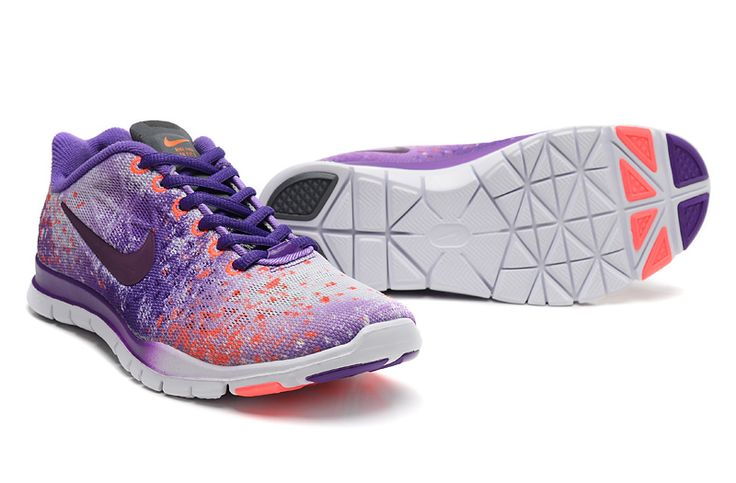 2015 NIKE FREE TR FIT 3 PRT 5.0 Stars Running Shoes Women Purple ...