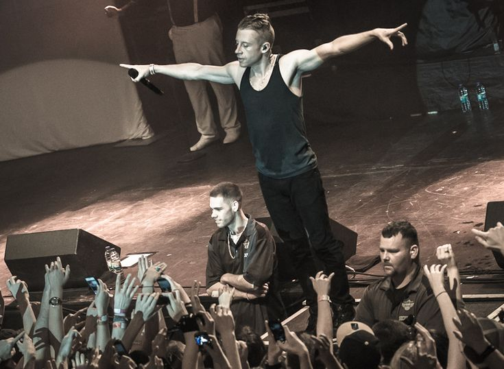 Macklemore has been active as an MC and songwriter since 1999. Dealt with substance abuse between 2005 and 2009 and now his song Thrift Shop is #1 in most charts around the world.