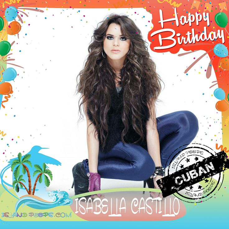 "Happy Birthday Isabella Castillo!!! Singer & Actress born in Havana, Cuba. Her best known role is that of Graciela ""Grachi"" Alonso, main character of the Nickelodeon Latin America's series Grachi!!! Today we celebrate you!!! @TheOnlyBella #IsabellaCastillo #islandpeeps #Islandpeepsbirthdays #Cuba #Grachi"