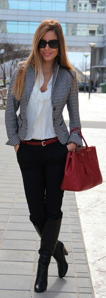 Fashionista: Street Style and Nice Blazzer