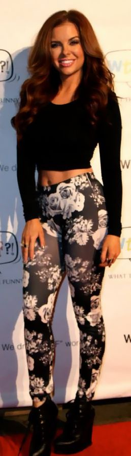 Kayla Collins floral pants