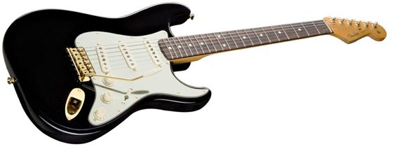 HARDWARE COLOR: Definitely want the gold hardware, a la John Mayer's Black1 Strat
