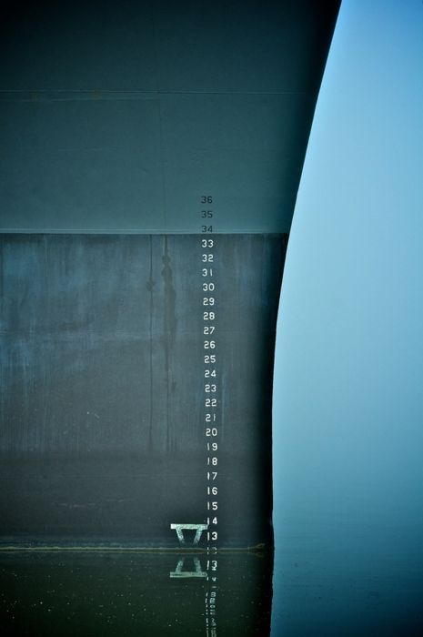 Depth by John F Hark l Photo of Container Ship, Maersk Line, the world's largest container shipping company