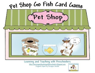 10 best preschool vet pet images on pinterest preschool for Fish card game