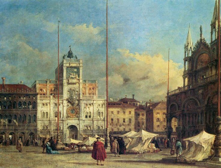 Francesco Guardi - Piazza San Marco, Venice