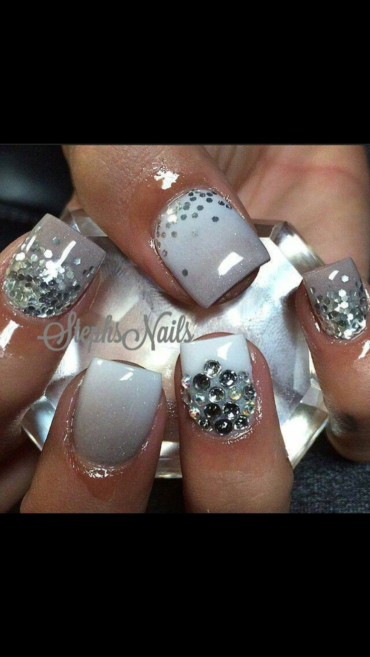 25+ Unique New Year's Nails Ideas On Pinterest