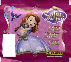 AUTOCOLLANTS PRINCESSE SOFIA (P7/B50) SOFIA THE FIRST STICKERS (P7/B50) PAPETERIE