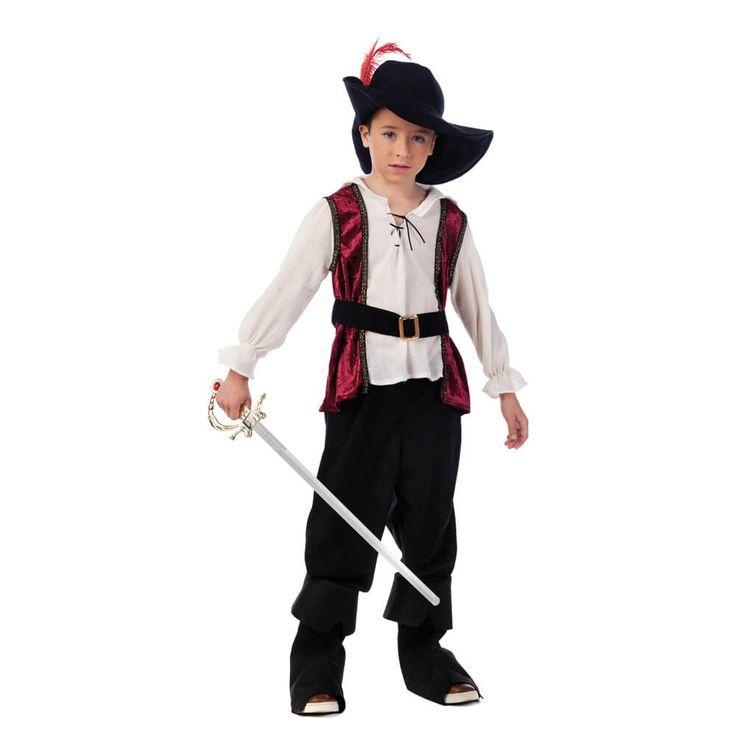 M s de 25 ideas nicas sobre disfraz de pirata ni o en pinterest disfraz pirata ni o disfraz - Disfraz casero mosquetero ...