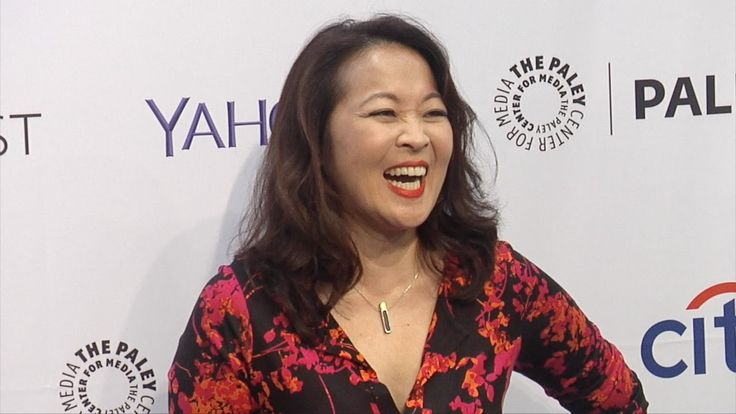 Suzy Nakamura // Dr. Ken PaleyFest 2015 Fall TV Preview Purple Carpet Ar...
