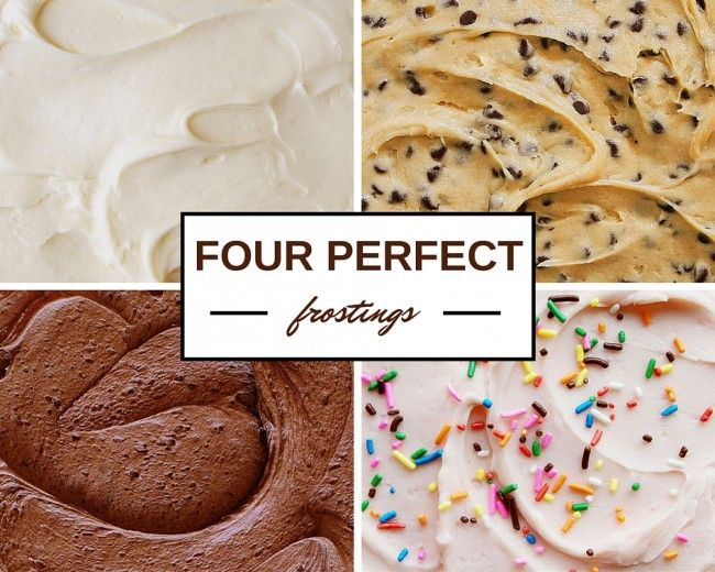 These are the BEST frostings for Cake & Cupcakes!