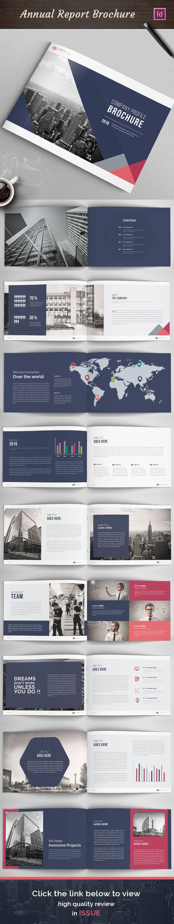 Best Brochure Design Images On Pinterest Brochures Editorial - Awesome report template ideas
