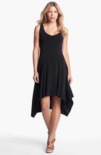 Karen Kane V-Neck High/Low Dress available at #Nordstrom. Fun and flirty.