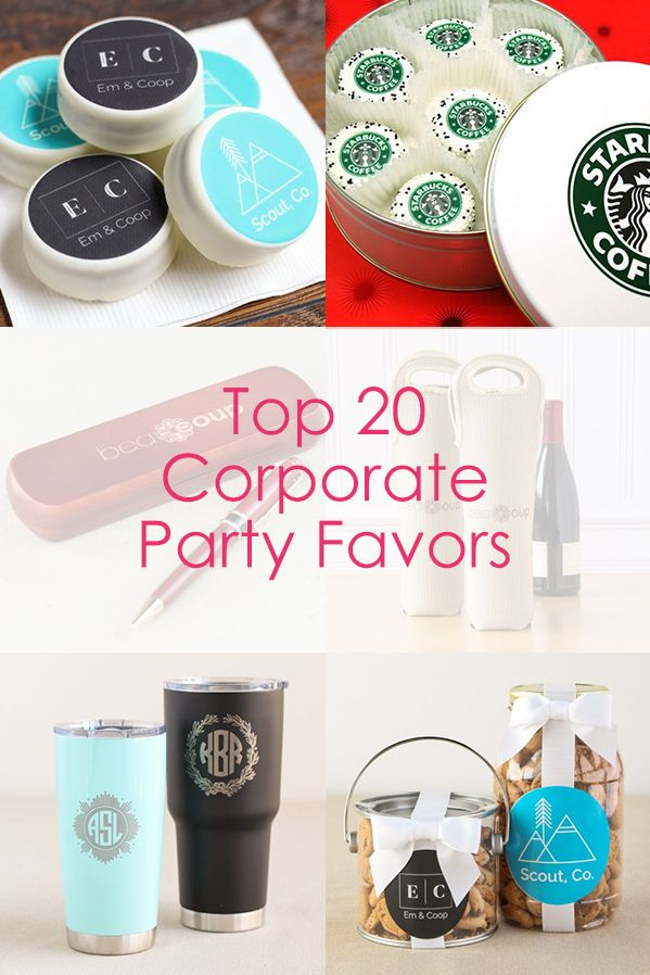 Planning a corporate party? Find the best corporate party favors and gifts all in one place!