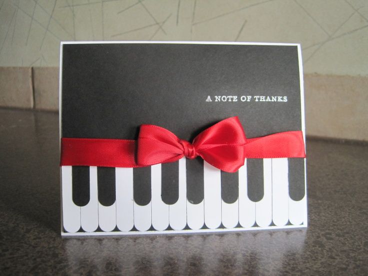 Stampin' Up! Punch Art Piano