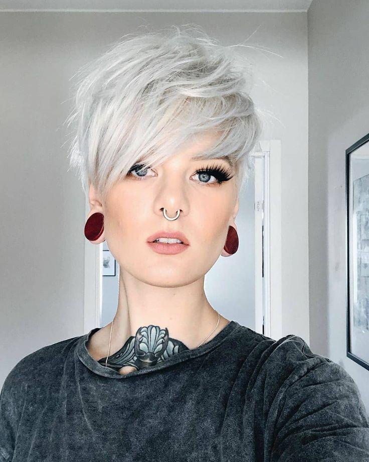 """📍world.hairdressers📍 on Instagram: """"📍 @katrinberndt • • • • • •••••#pixiepalooza#wakeupandmakeup #makeup #makeuptime #hairlove #makeupoftheday #makeuptransformation…"""""""