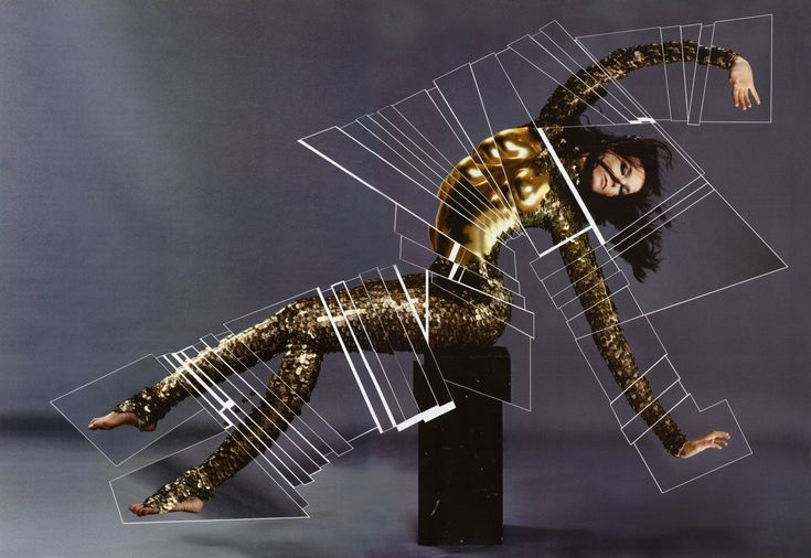 Björk by Jean-Paul Goude #2007 dressed by Alexander McQueen
