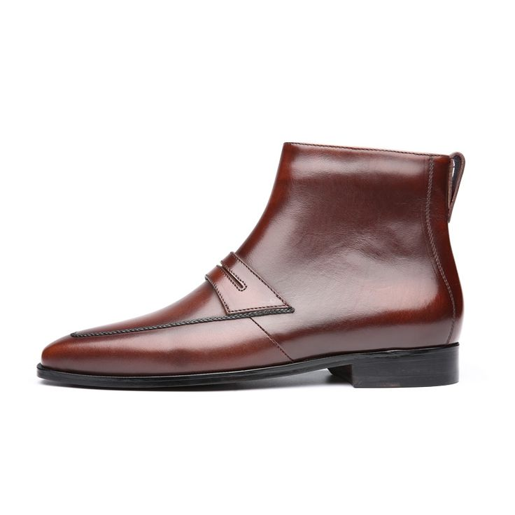 236.00$  Watch here - http://aliu52.worldwells.pw/go.php?t=32787399981 - TERSE_Fashion boots handmade leather mens winter boots in tobacco/ burgundy goodyear welted vintage shoes custom service 236.00$
