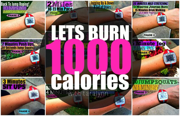 The 1000 Calorie Workout!