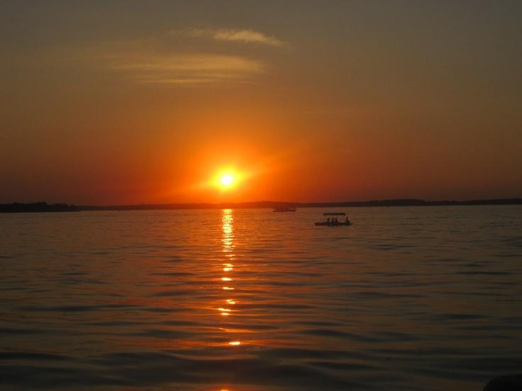 Lake Mendota sunset; June 30, 2012; Madison, Wis. Photo: HL Lester.