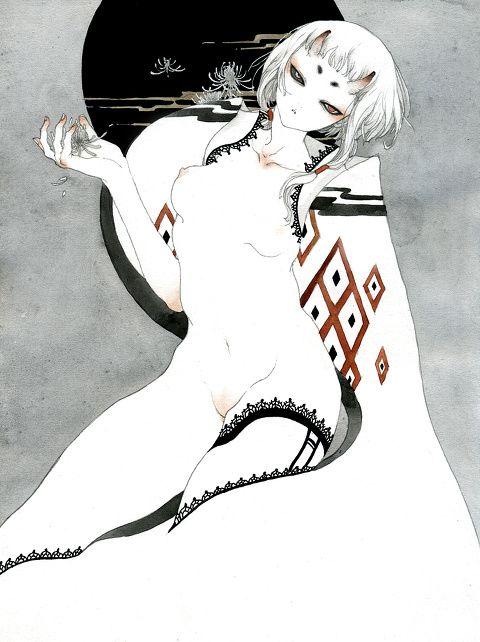 「白は鬼」/「sheep」のイラスト [pixiv]