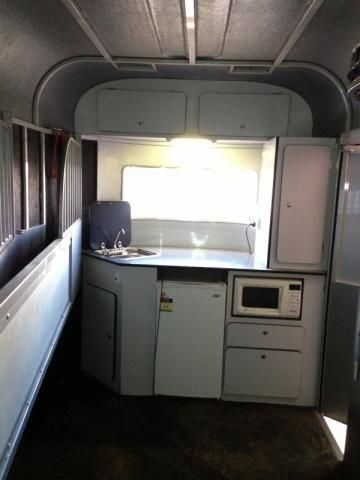 13 best images about horse float kitchen on pinterest for Camper trailer kitchen designs