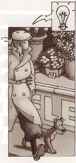 Tintin dans Glamour city