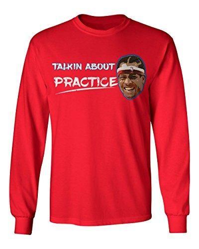 """Allen Iverson """"Practice"""" Long Sleeve"""