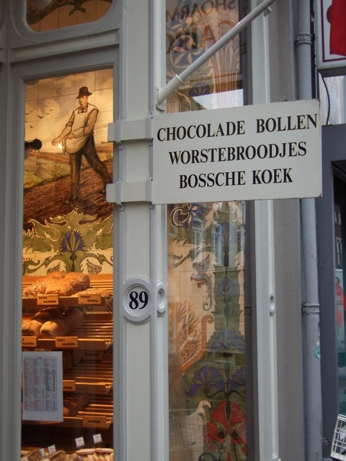 Breadshop-- A lovely bakery shop in Hertogenbosch in the Netherlands the shop was very picturesque.