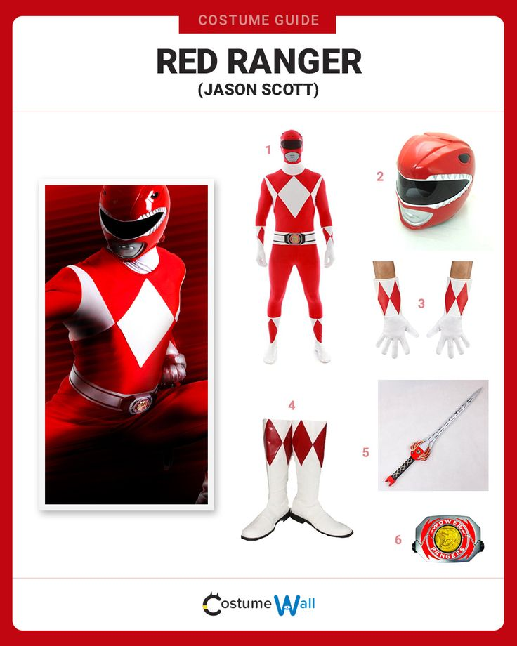 The best costume guide for dressing up like Jason Lee Scott, the original Red Ranger and leader of the Mighty Morphin Power Rangers.