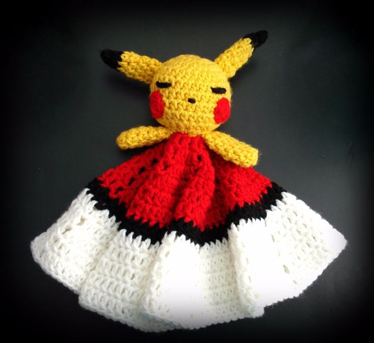 Security Baby Blanket Pikachu Pokeball Toy animal Shower gift pokemon go  #Handmade
