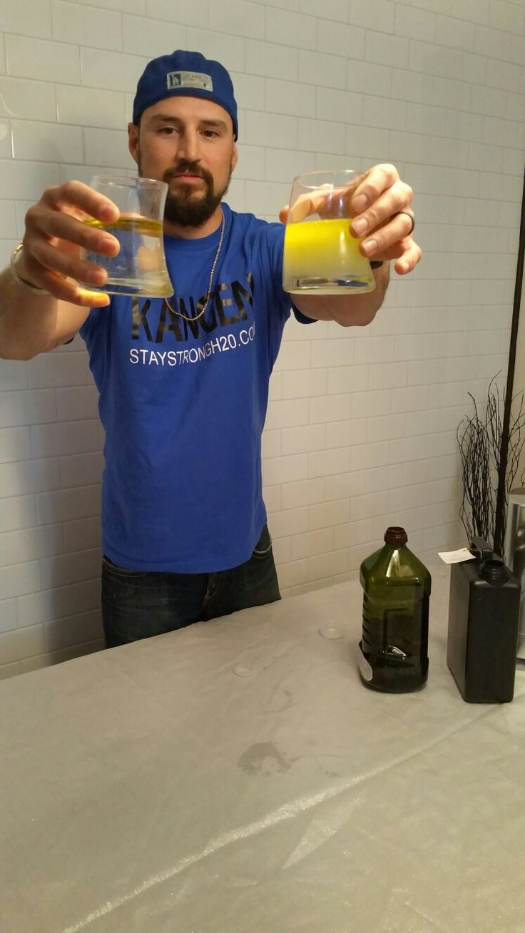 11.5 kangen water  Emulsify oil Clean De grease Cook Make dressings Strip pesticides off your fruits n veggies