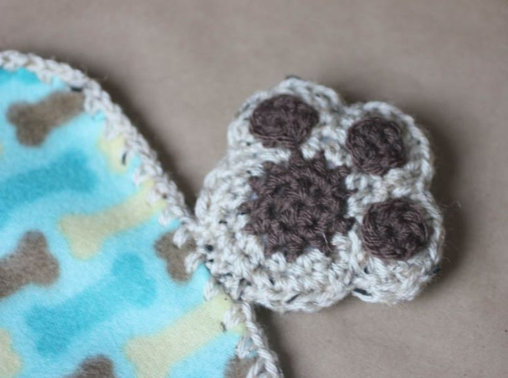 Repeat Crafter Me: Puppy Dog Lovey Blanket Crochet Pattern ...