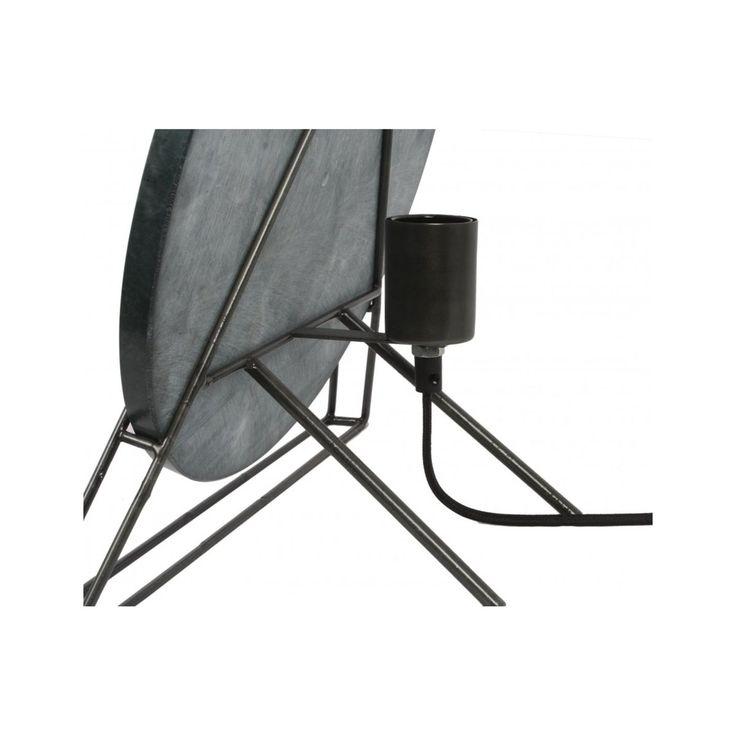 Lampe De Table Carmie 387 Marbre – Taille : Taille Unique