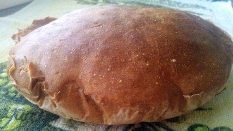 domáci chlieb zo špaldovej múky