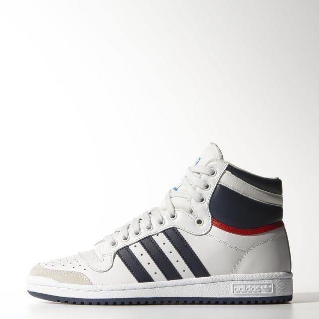 Top Ten Hi Schuh - schwarz
