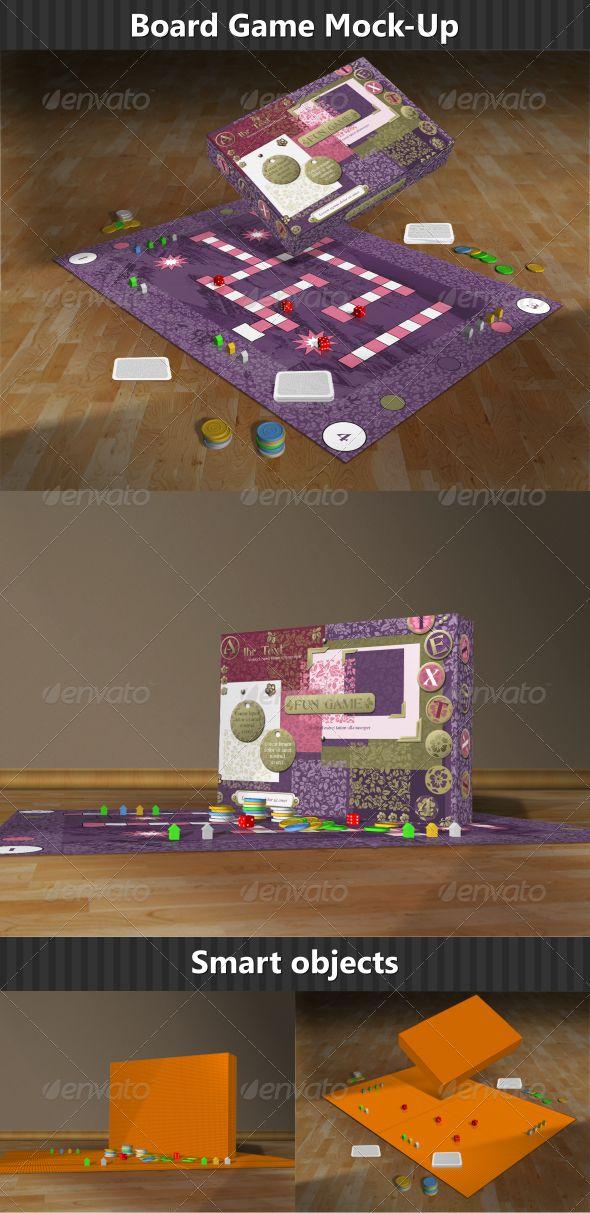Board Game Mock Up Board Games Mockup Business Card Mock Up