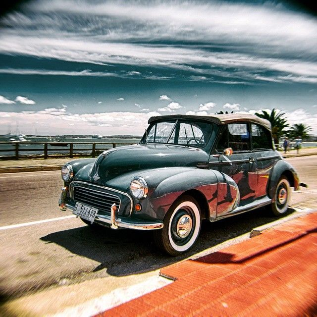 Some english car in Punta Del Este