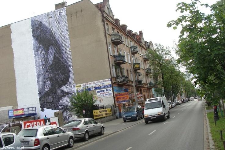 Festiwal Murali zagościł na Wildzie! #mural #poznan