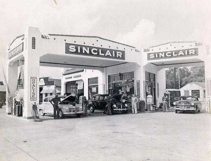 Sinclair Texas texans, Grand prairie, 1950s photos