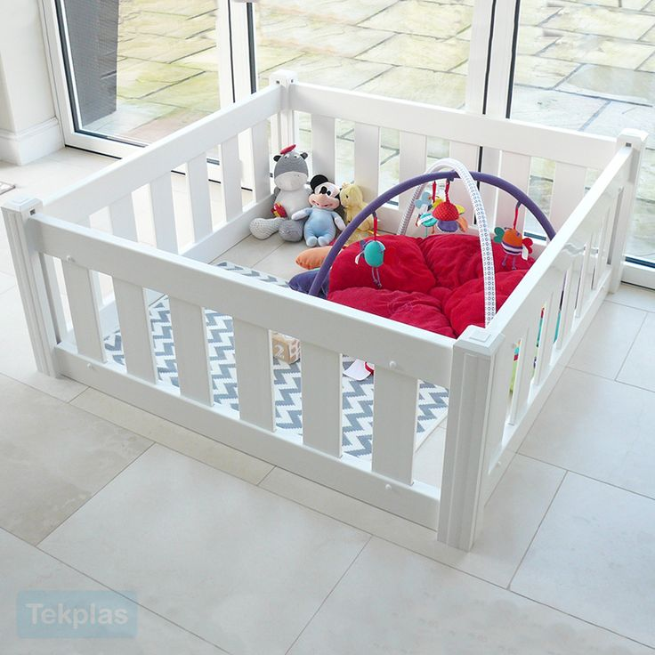 Tekplas Plastic Baby and Toddler Playpens are a safe and sturdy construction and manufactured using the highest grade of PVC.  All of our Tekplas Baby and Toddler Playpens are a modular system enabling you to add more PVC panels at a later date should you need to increase the play area. The
