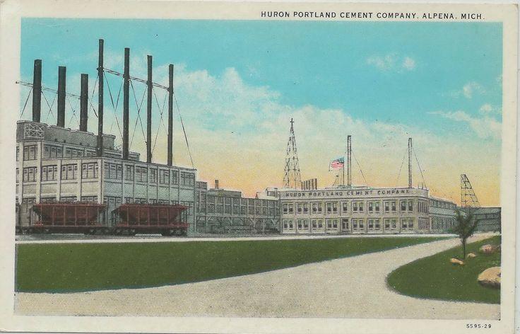 Cement City Michigan Cement Plant : Best antique alpena s images on pinterest