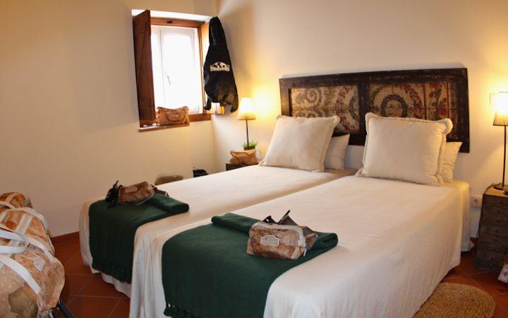Una delle camera della Casa Dos Castelejos