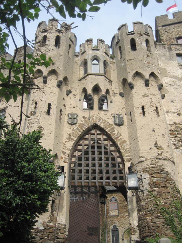 Burg Lahneck Lahnstein in Rhineland-Palatinate Deutschland Burgerbe-Blog