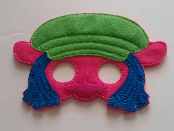 Check out this item in my Etsy shop https://www.etsy.com/listing/492177391/trolls-pretend-play-mask-cooper-troll