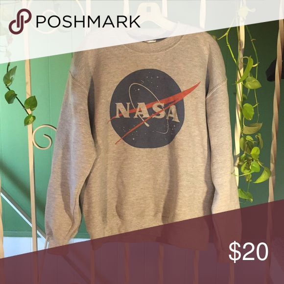 Unisex Medium NASA Classic Crewneck Sweatshirt Selling one Medium Unisex NASA Logo Crewneck Sweatshirt. Crewneck itself is made by Guilden, logo is screenprinted. Show some love for our interstellar Americans 🌌 Fits me comfortably, usually wear a large✌🏼 NASA Shirts Sweatshirts & Hoodies